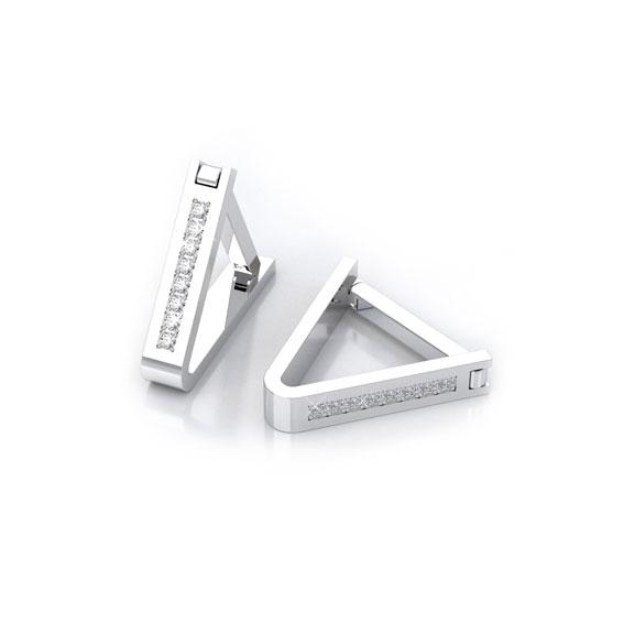Необычные запонки с бриллиантами фото c-12